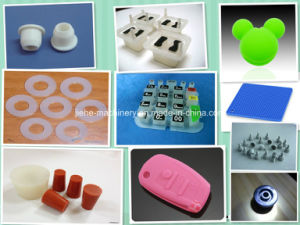 200t Rubber Silicone Product Making Machinery with Single Station pictures & photos
