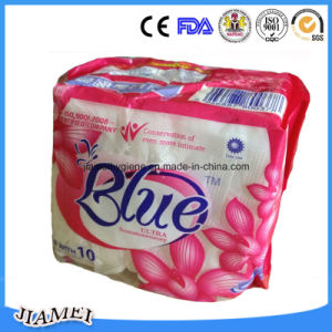 240mm Cotton Sanitary Napkins with Wings Individually Wrapped pictures & photos