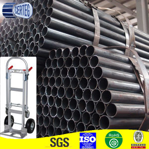 Q345b High Strength Round Carbon Steel ERW Pipe (SP098) pictures & photos