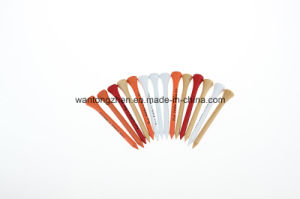 Wooden Golf Tee 42, 54, 70, 83mm Size Wood Tee Logo Design Golf Tees