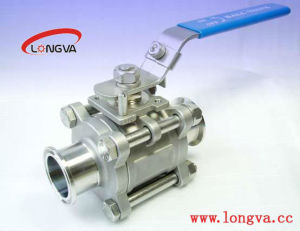 3-Pic Ball Valve with Mounting Pad for Actuator pictures & photos