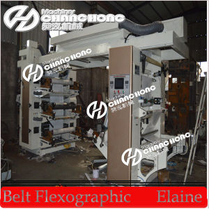 6 Colors High Speed Flexo Printing Machine (CE) pictures & photos
