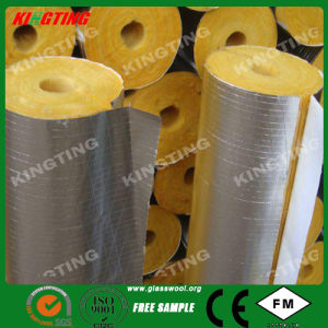 Heat Insulation Factory Price Facing Aluminum Foil Glasswool Pipe