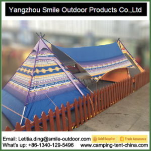 Custom Print Camping Teepee One Pole Tent for Party pictures & photos