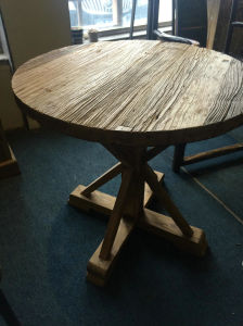 Chinese Old Elm Wood Round Table Lwd540 pictures & photos