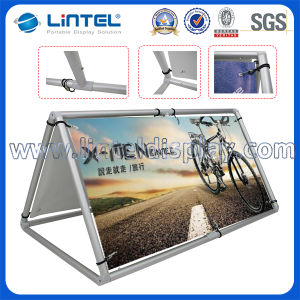 Aluminum Outdoor a Frame Portable Display Stand (LT-23) pictures & photos