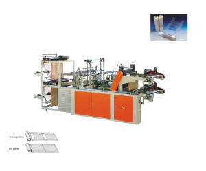 Double Channels Plastic Volume Bag Soft Packing Bag Making Machine pictures & photos