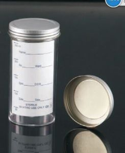 250ml Sample Containers with Metal Cap and Printed Label pictures & photos