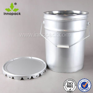 10L Stackable Metal Bucket with Inner Coating and Handle pictures & photos