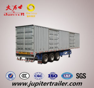 Three Axle Van Semi Trailer and Cargo Box Trailer
