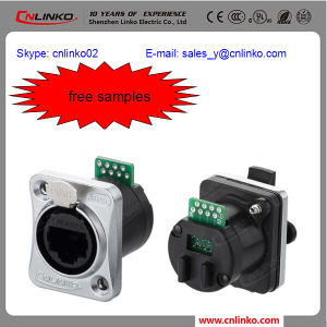 Shielded LAN Cable Connector/Shielded Rj-45 Connector/RJ45 Socket pictures & photos