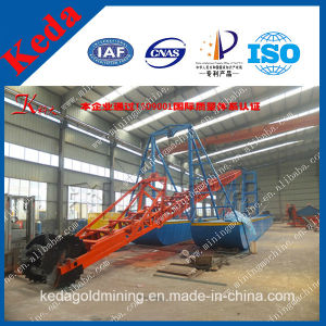 High Efficiency Bucket Chain Gold Dredger for Sale pictures & photos