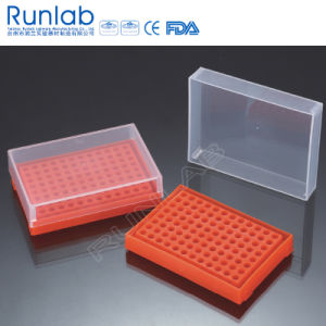 96 Well PCR Tube Racks with Cover pictures & photos