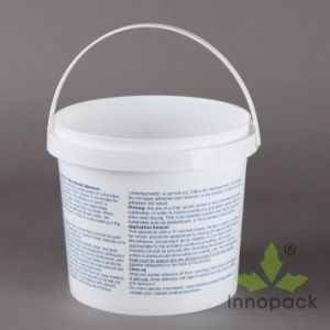 1 Gallon Round Printed Plastic Bucket pictures & photos