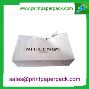 Custom Printed Twisted Handle Paper Carrier Bags pictures & photos