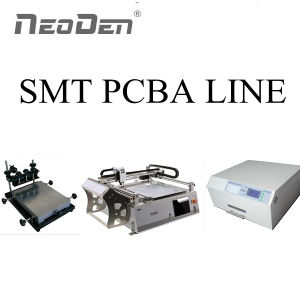 $5000 SMT PCB Assembly Production Line Neoden3V, Solder Paste Printer, Reflow Oven