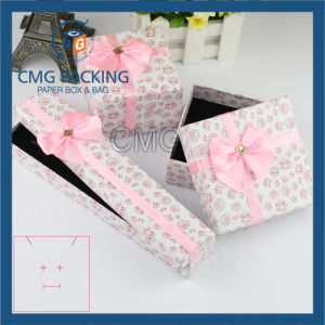 Luxury Black Glossy Earring Box with Insert (CMG-PJB-116) pictures & photos