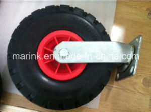 PU Tyre with Iron Holder pictures & photos