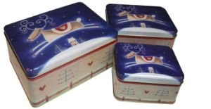 OEM Seriers Tea Tin Box with Printing Customer Artwork pictures & photos