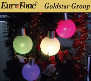 LED Ball Light Plastic Decoration/Waterpool/Float LED Decorative Ball Lights pictures & photos