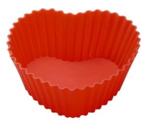Silicone Heart-Shape Cake Cup & Cake Mould &Bakeware FDA/LFGB (SY6605) pictures & photos