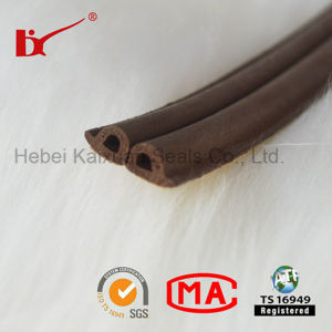 Extrusion Foam D Type Rubber Sealing Strip pictures & photos