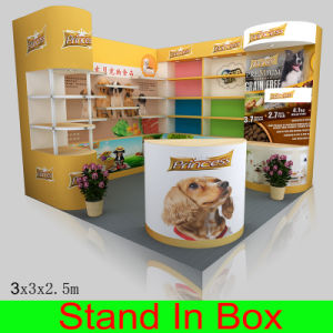 Customized Indoor Portable Reusable Exhibition Booths pictures & photos