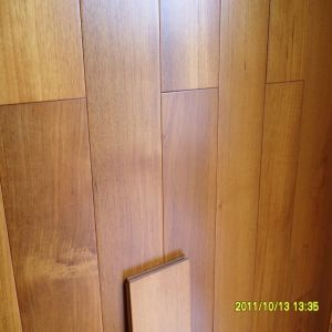 High Quality Smooth Surface Asian Teak Hardwood Flooring