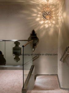 Terrace Frameless Glass Railing Design for Interior Deck pictures & photos