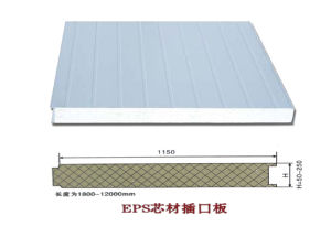 Building Material EPS Sandwich Panel for Container House pictures & photos