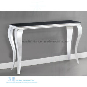 Ordinaire Modern Tempered Glass Stainless Steel Console Table (HW 780T)