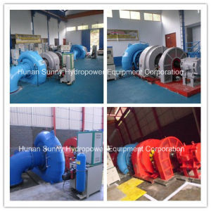Hydro (Water) Francis Turbine-Generator Sfw-500 500kw Low Voltage0.4kv/ Hydropower Alternator pictures & photos