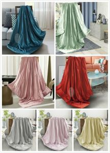 Taihu Snow Silk High Quality Luxury Light and Soft Summer Travel Baby Used Silk Throw Blanket pictures & photos