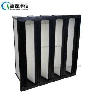 V Bank Filter HEPA Compact Filter V-Cell HEPA Filter pictures & photos
