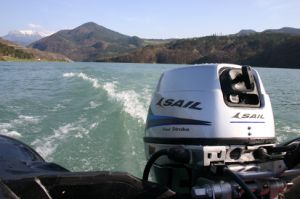 Sail 4 Stroke 15HP Outboard Motor / Outboard Engine pictures & photos
