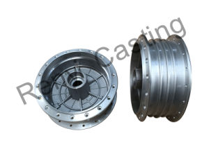 Wheel Hub by Pressure Die Casting From a-380 Cast Aluminum pictures & photos