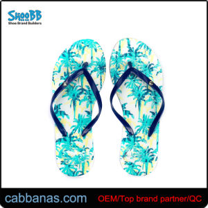 c8138a82d China Customize Green Bamboo Beach Flip Flops for Women - China ...