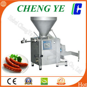 Vacuum Sausage Filler/ Filling Machine with CE Certification 8.5 Kw pictures & photos
