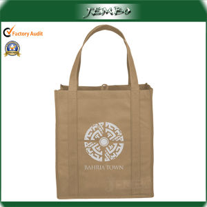 Custom Printed Promotion Wholesale Non Woven Tote Bags pictures & photos