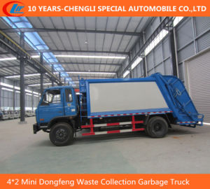 4*2 Mini Dongfeng Waste Collection Garbage Truck, Compressed Garbage Truck pictures & photos