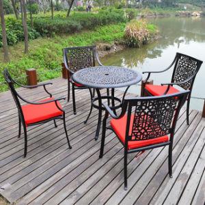 Cast Aluminum Garden Furniture Dubai Patio Dining Set Good Quality
