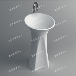2015 New Solid Surface Freestanding Basin (JZ2007)