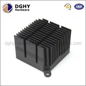 Extrusion Aluminum Heat Sink with CNC Machining Made in China