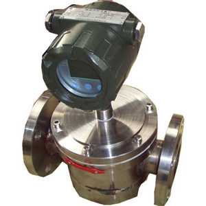 Duplex Rotor Flow Meter with Type UF for Liquid Oil Water