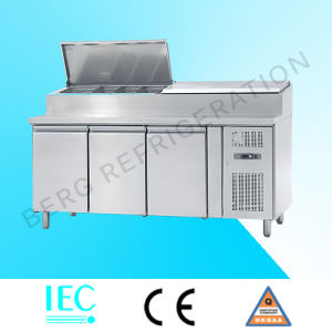 Hotel Refrigerator Equipment Sandwich Prep Table Fridge with Ce pictures & photos