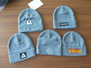 e6d0e1d75974 wholesale supreme supreme script logo embroidered beanie pink size ad868  4febb  low cost kintted wool beanie with custom embroidery logo 13378 9481f