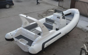 Liya 7.5m Speed Rib Boat Fishing Boat Rescue Boat Life Boat pictures & photos