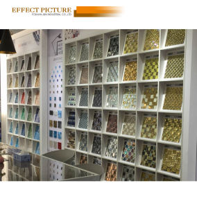 Showcase Decoration Light Emperador, Resin and Glass Mosaic (M820001) pictures & photos
