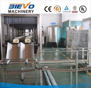 Automatic 5 Gallon Barrel Pure Drinking Water Filling Machine/Bottling Plant pictures & photos