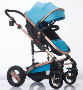 New Design European Luxury Fold Baby Pram with Ce Certificate